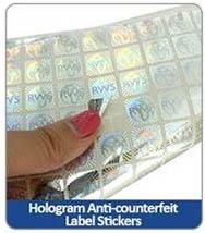 Hologram Anti-counterfeit Label Stickers