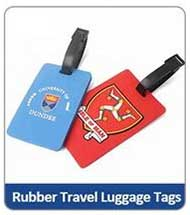 Rubber Travel Luggage Tags
