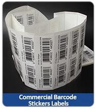 Commercial Barcode Stickers Labels