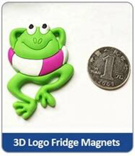 3D Logo Fridge Magnets