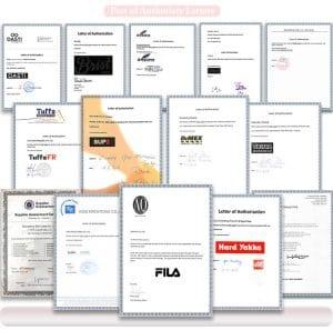 Customer's Authorization Letter-doylabel