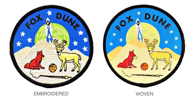 Difference Between Woven Patches And Embroidered Patches
