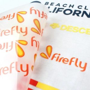 High Density Iron on Printed Custom 3D Silicone Heat Transfer vinyl Printing for Raised Rubber Label
