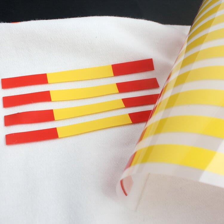 High Density Printing Custom 3D Raised Logo Silicon Heat Transfer for T-shirts
