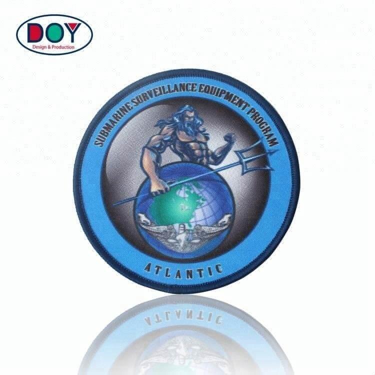 Iron On Laser Cut Custom Logo Sublimation Heat Transfer Printing Labels
