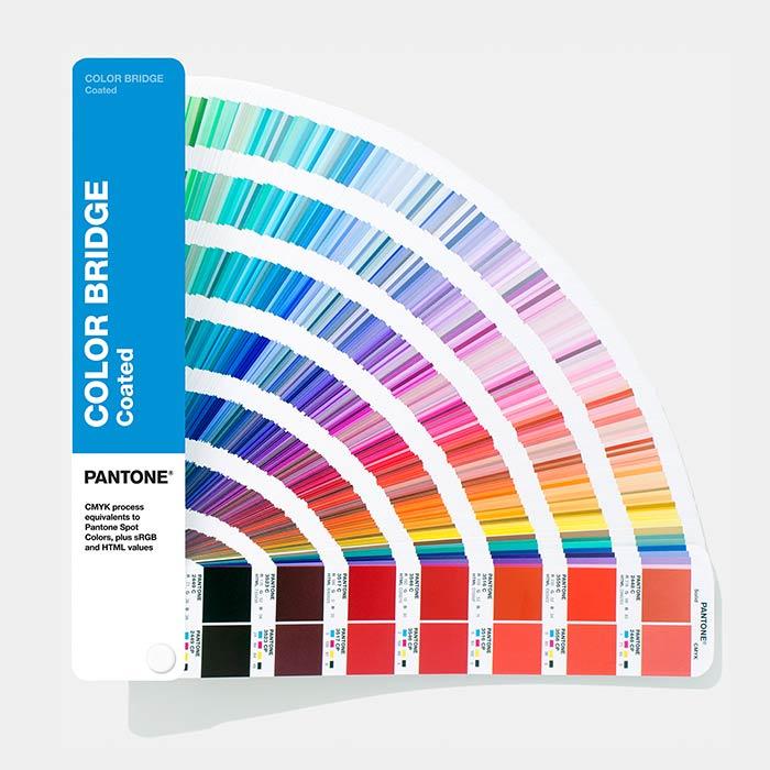Follow Pantone Color Chart