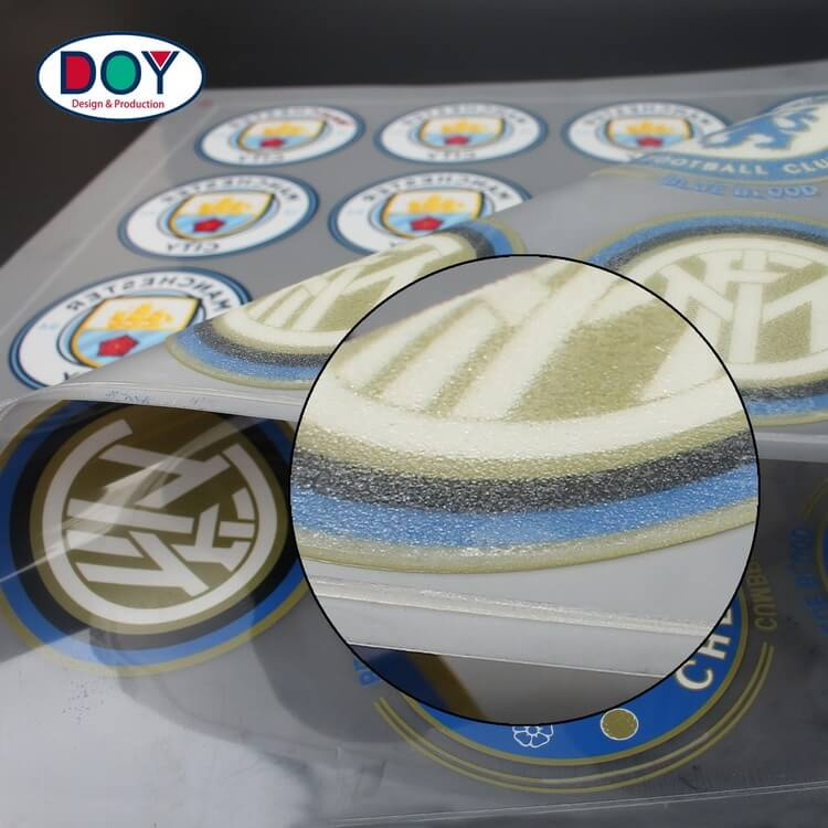 Plastisol Heat Transfer Company's High Density Rubber Silicone Heat Transfer Stickers For Jerseys And Hat