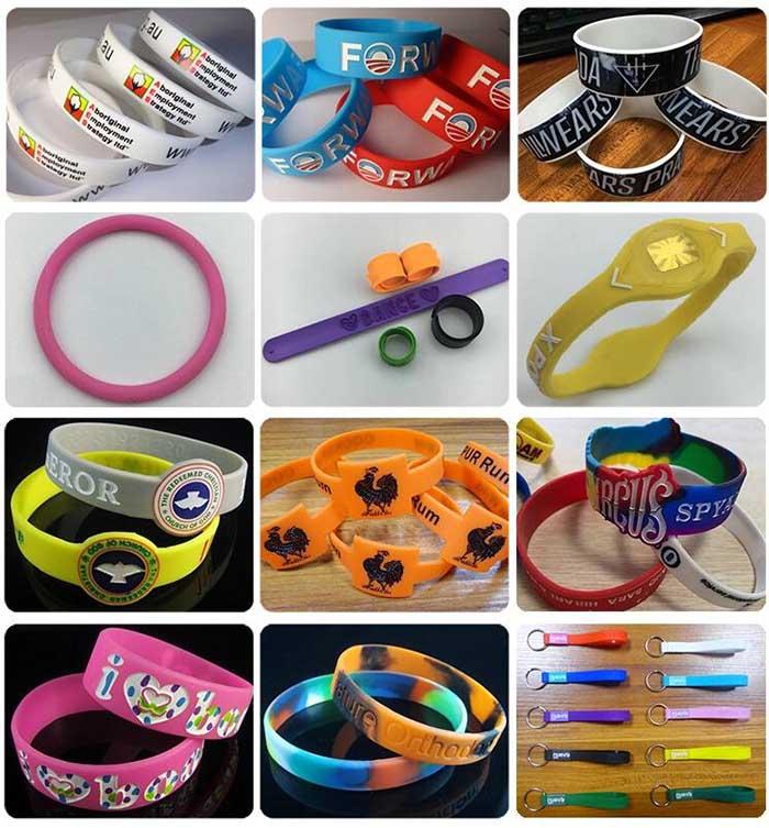 Silicone Wristbands Shape