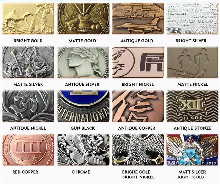 Metal Medal color