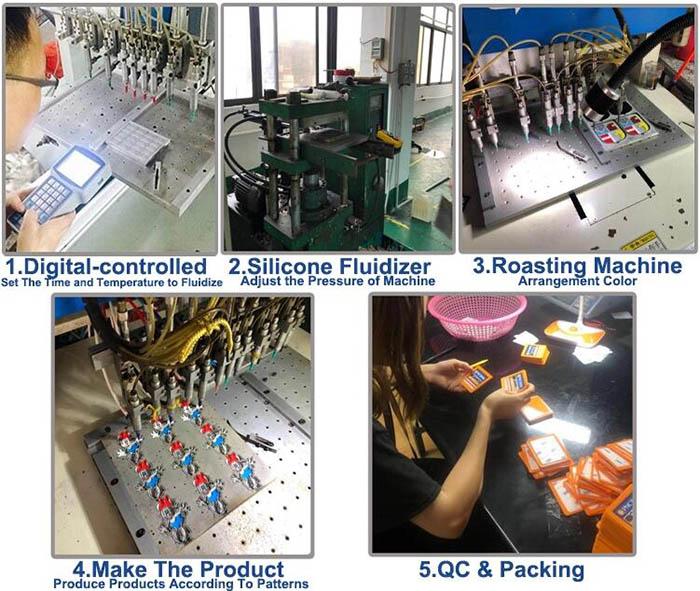 Rubber production workshop