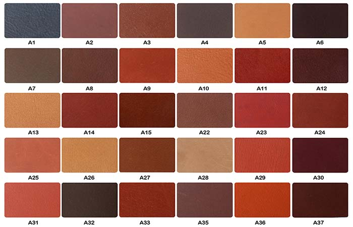 We use the PMS color chart