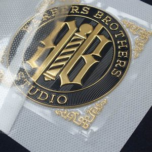 Wholesale Custom High Frequency Embossed Brand Name Logo Soft TPU 3D Printed Clothing Labels Patches