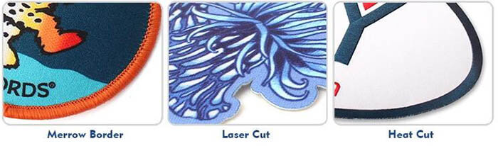 Heat Transfer Patches Border