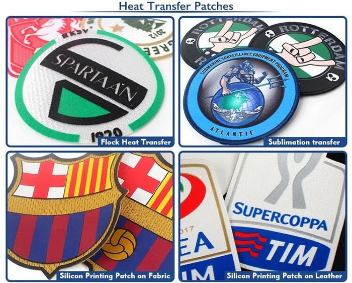 Series of Heat Transfer Labels