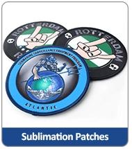 sublimation patches