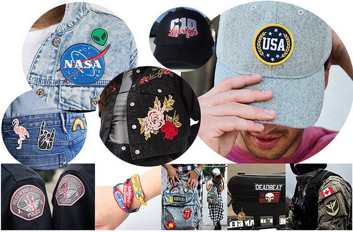 woven-embroidered-patches-usage