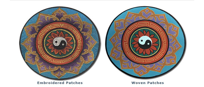 Woven Patches vs Embroidered Patches