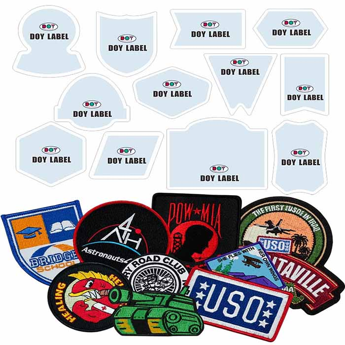 Woven Patches shape