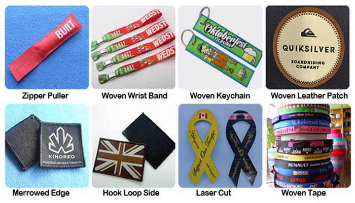 woven label products