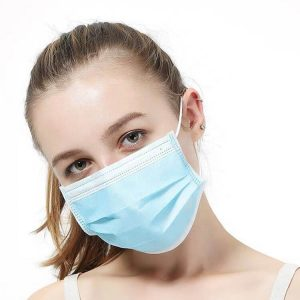 3 PLY Disposable Triple Protected Face Mask For Covid19 Coronavirus Dust