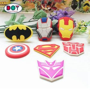 Custom 3D Anime Cartoon Logo Soft PVC Rubber Fridge Magnets