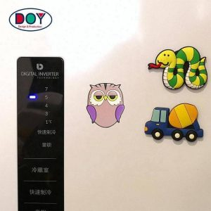 3D Cute Cartoon Logo Soft Rubber PVC Silicon Fridge Magnets