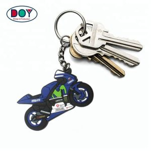 Custom 3D Soft PVC Rubber Keychains for Promotion Gift