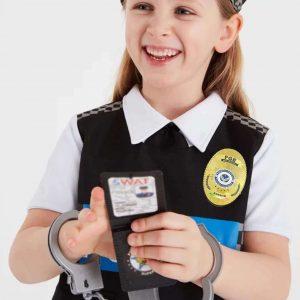 3D TPU Embossed Logo Metal Color Military Badges for Police Uniform