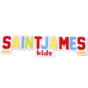 Custom Colorful Logo Chenille Patches Letter Embroidery