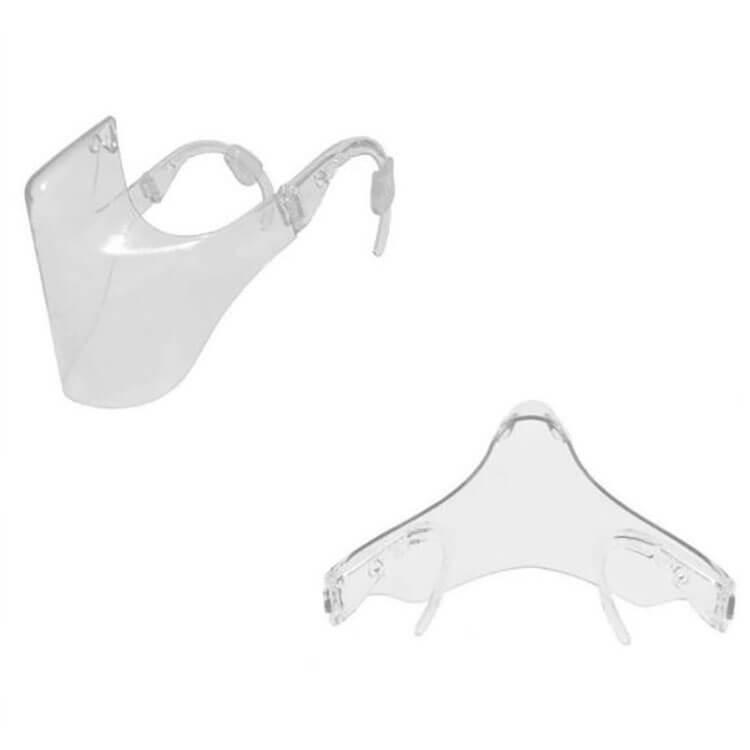 Clear Shield Combine Plastic Clear Face Bandanas