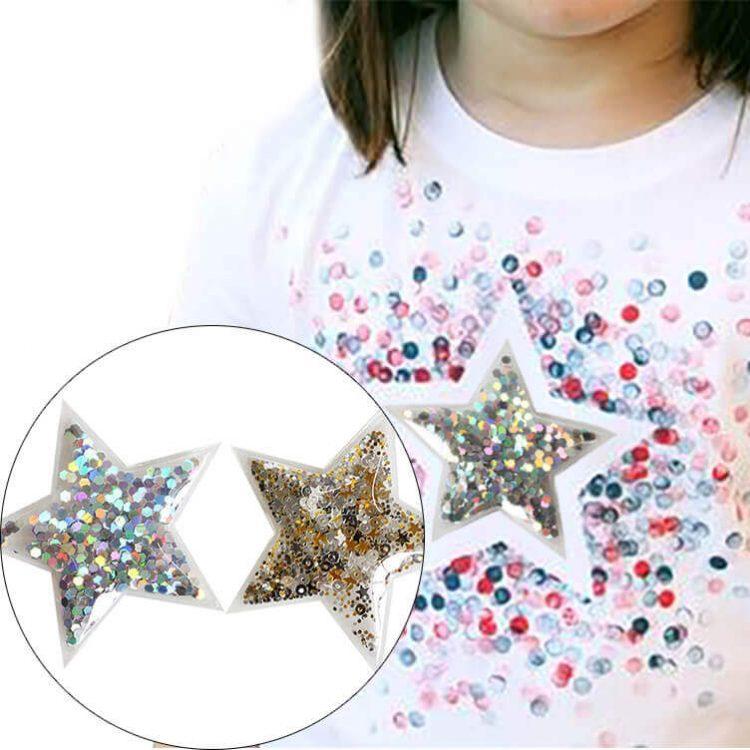 Confetti TPU Transparent Patches