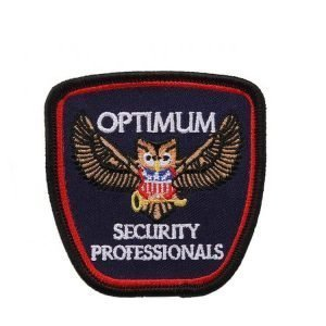 Custom Design Services Fabric Merrow Border Embroidered Logo Patches