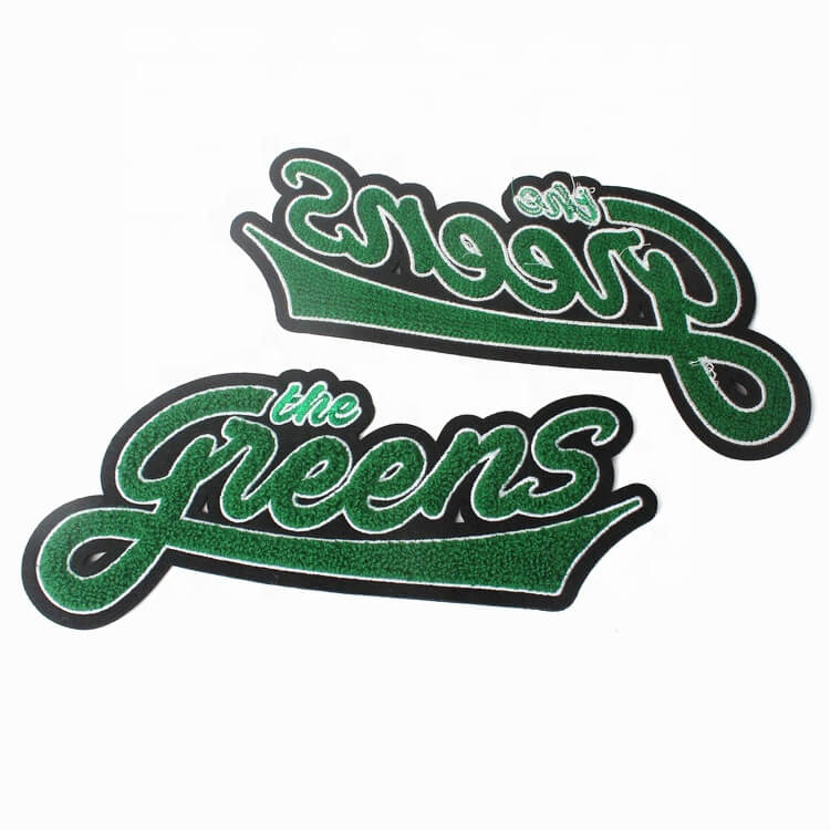 Embroidery Chenille Patches Letters