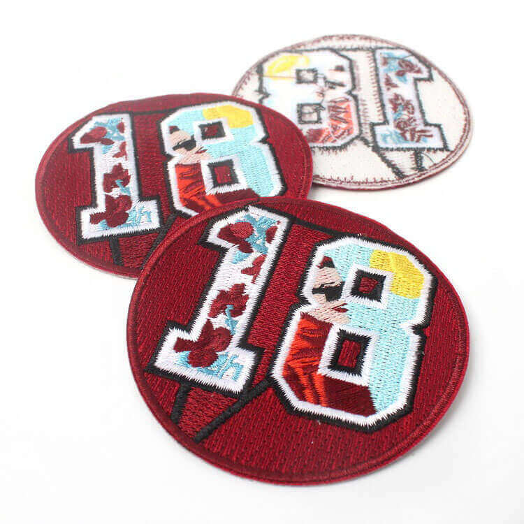 Embroidery Crest Patches