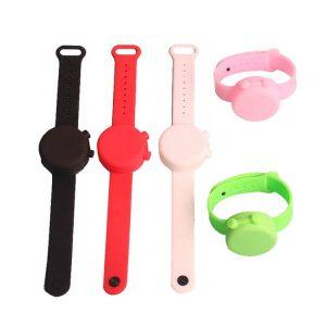 Factory Price Custom Logo Mini Squeeze Wristband Bracelet for Hand Sanitizer