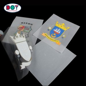 Football Team Club Badges Maker Custom TPU Sports Iron On Heat Transfers