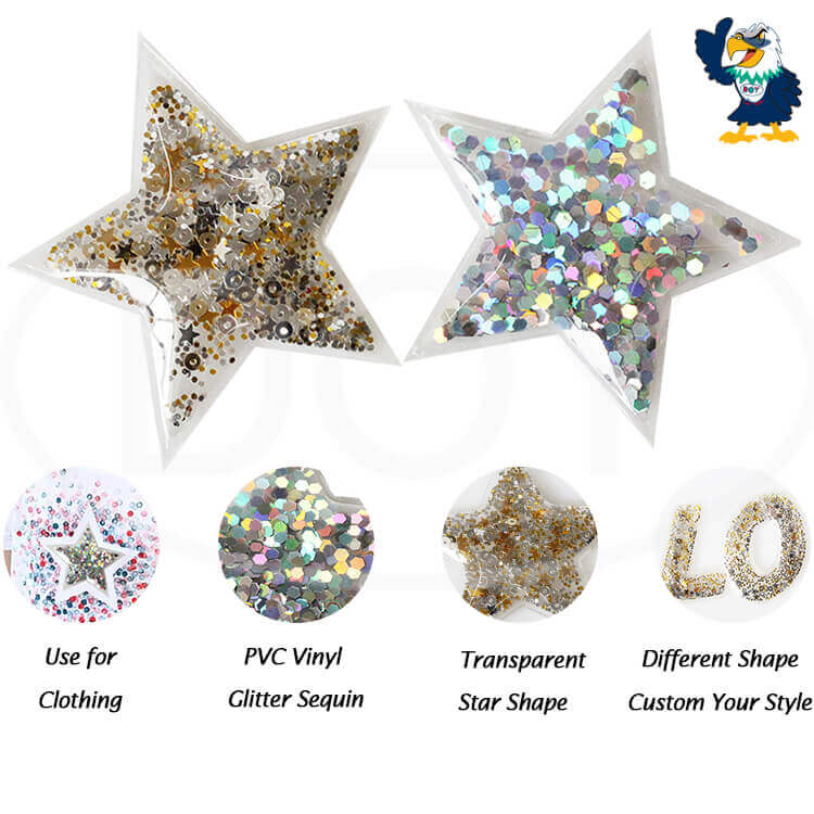 Glitter sequin for Clothing Decorate