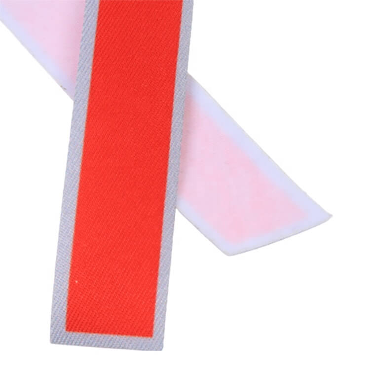 Heat transfer Stickers Factory Price Custom Arabic Numbers Logo Twill Fabric Patches with Laser Cut