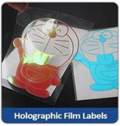 Holographic Film Labels