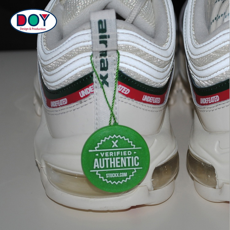 Name Logo Plastic Hang Seal Tag String for Shoe and Clothing