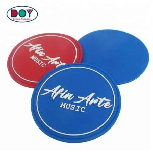 Custom Raised 3D Brand Logo PVC Rubber Badges Patches