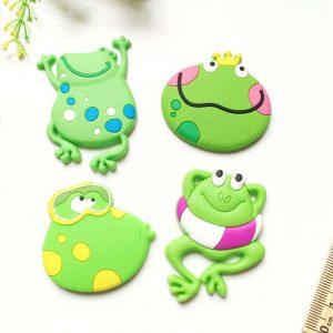 Factory Supply Custom Cute Cartoon Animal Soft Rubber Fridge Magnets for Souvenir