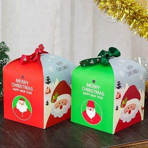 Roll Gift Decorative Custom Printed Christmas Logo Webbing Satin Ribbons