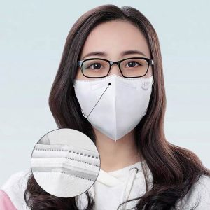 CE Certificated Disposable FFP2 KN95 Mask For Standard Personal Protective