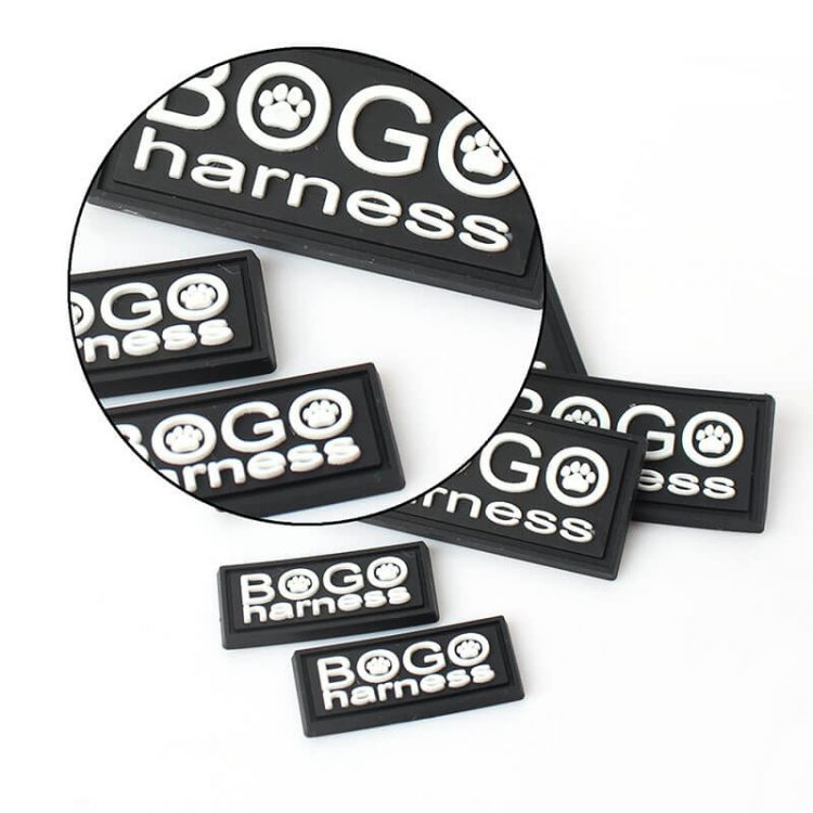 Sew on 3D Rubber Patch Label