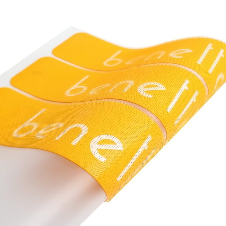 Soft High Density Printing Brush Silicon Heat Transfers