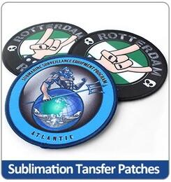 Sublimation Transfer Patches