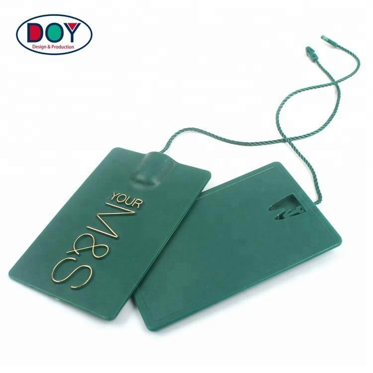 Hang tag string for clothing, jewelry, shoes