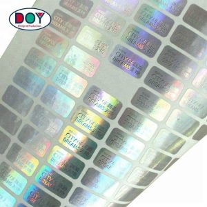 Custom Printed Hologram Anti-counterfeit Label Stickers for Certificate