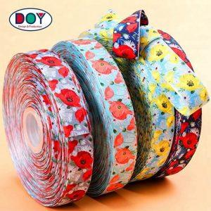 Wholesale Custom Sublimation Printed Logo Satin Ribbon for Decoration